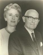 Marian Mullin Hancock and Allan Hancock