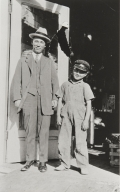 Paul Kurokawa and Uncle Matsuoka : 1926.