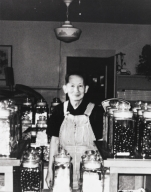 Richard Q. Chong, owner of Chong's Home Made Candies ; the store was located on the corner of Palm & Chorro Streets in Chinatown.