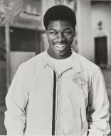 """Sam Cunningham, Outstanding Senior Boy, Class of 1969 : Sam was chairman of the Athletic Committee, a member of Key Club and United Black Students and excelled in shot-put as well as football. He won All-American honors from Parade and Scholastic magazines. He attended the University of Southern California and as Sam """"Barn"""" played football with the New England Patriots. (His brother Randall, Class of 1980, plays football for the Philadelphia Eagles.)"""