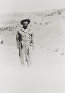 Arthur J. Brown at La Brea Ranch : 1945.