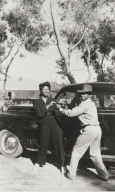Estar and Roosevelt Campbell, Guadalupe Park : 1946.