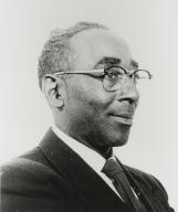 Reverend A. J. Banks, former pastor of San Luis Obispo Springfield Baptist Church : 1958-1971.