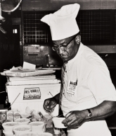 "Ernest E. ""Gene"" Brown, Executive Chef at the County General Hospital from 1946 until the 1970s."