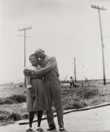 Ellen and Ed Foster at Airbase, Santa Maria : 1948.
