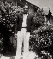 Leroy Jones, Sr., male nurse orderly, Airport Hospital, Santa Maria : 1954.