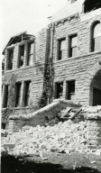 Santa Barbara 1925 Earthquake Damage - Santa Barbara Junior High School