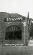 Santa Barbara 1925 Earthquake Damage - Arlington Garage