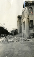 Santa Barbara 1925 Earthquake Damage - Catholic School
