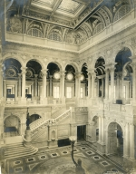 Grand Stair Hall in the Congressional Library