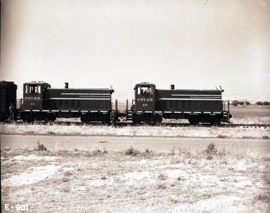Santa Maria Valley Railroad Diesel Locomotives