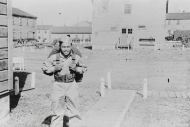 Dadong Ramil of Oceano at Camp Cook (presently Vandenberg Air Force Base), Lompoc : 1948.