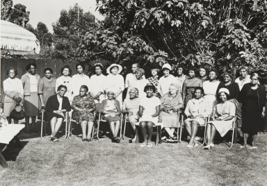 George Washington Carver Club, Santa Barbara : 1970 ; among the ladies pictured is Mamie Wilson, founder and first president.