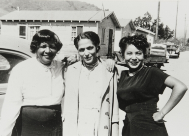 Members of Springfield Baptist Church on Brook Street, San Luis Obispo : 1947.