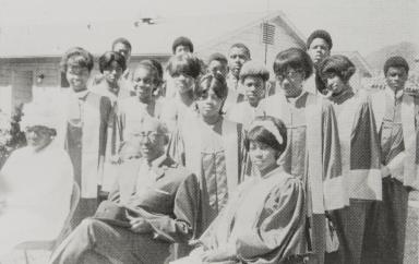 Springfield Baptist Church Youth Choir : 1970