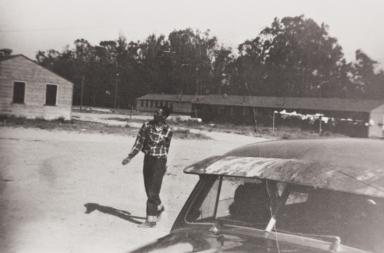 Clarence Jones, Farm Labor Center : 1950s.