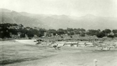 Santa Barbara 1925 Earthquake Damage - Sheffield Reservoir