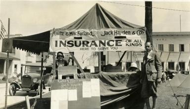 Santa Barbara 1925 Earthquake Damage - De la Guerra Plaza