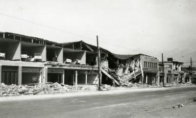 Santa Barbara 1925 Earthquake Damage - El Camino Real Hotel