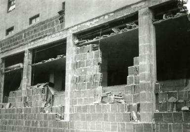 Santa Barbara 1925 Earthquake Damage - Unknown Location