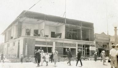Santa Barbara 1925 Earthquake Damage - 700 Block of State Street