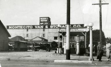 Santa Barbara 1925 Earthquake Damage - Montecito Van & Storage