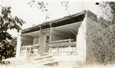 Santa Barbara 1925 Earthquake Damage - Unidentified Building, Santa Barbara