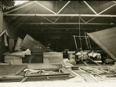 Santa Barbara 1925 Earthquake Damage - Laundry