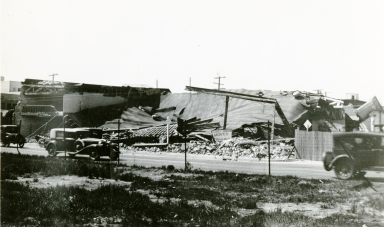 Earthquake Damage - Long Beach, California, 1933