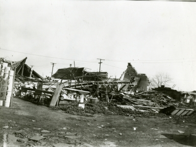 Earthquake Damage - Long Beach, California, 1933