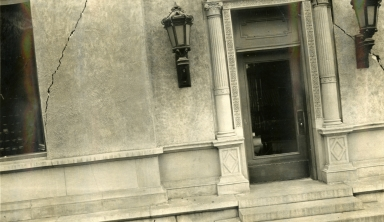 Santa Barbara 1925 Earthquake Damage - Post Office