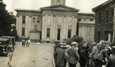Santa Barbara 1925 Earthquake Damage - Santa Barbara County Courthouse