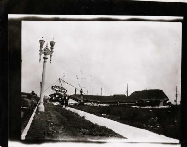 Earthquake damage - Long Beach, California 1933