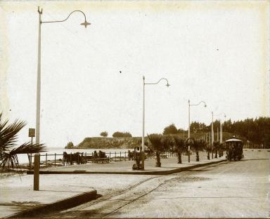 West (now Cabrillo) Boulevard, near Plaza Del Mar