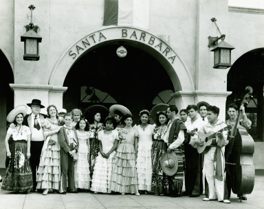 Fiesta Group At Train Station