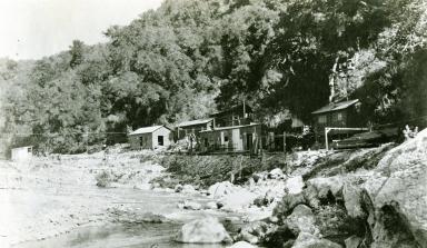 Camp at Gibraltar Dam