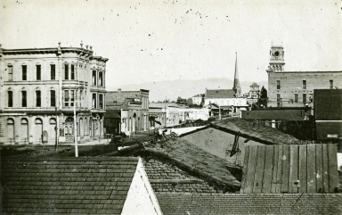 Panoramic, Looking Northwest on State Street
