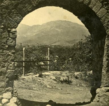 Santa Barbara Mission Aqueduct Arch
