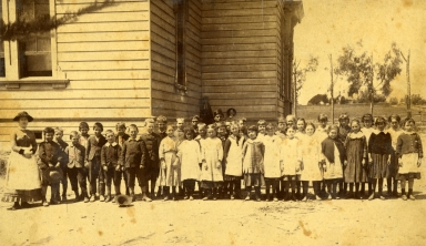 Santa Barbara School Children