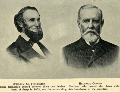 Portrait of William Hollister & Ellwood Cooper
