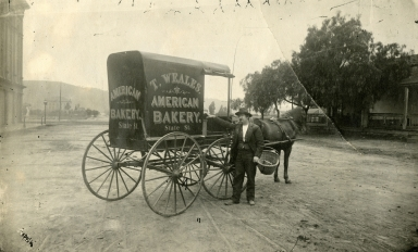 Bakery Wagon on Carrillo street