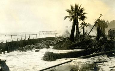 Santa Barbara Waterfront - Storm Damage