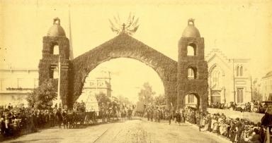 Santa Barbara Mission Centennial Parade