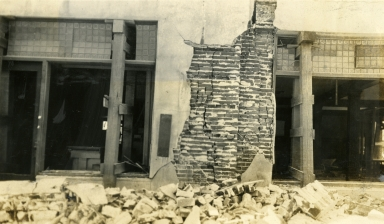 Santa Barbara 1925 Earthquake Damage