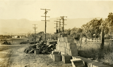 Santa Barbara 1925 Earthquake Damage - Sierra Vista