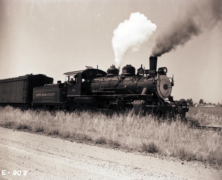 Santa Maria Valley Railroad Steam Locomotive 205