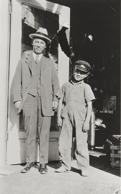 Paul Kurokawa and Uncle Matsuoka : 1926.
