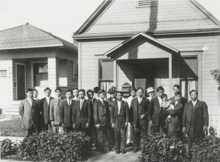 Santa Barbara Chinese Mission Church : early 1900s.