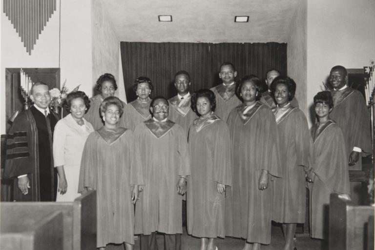 Bethel A.M.E. Church Cathedral Choir : 1967 ; Oxnard.