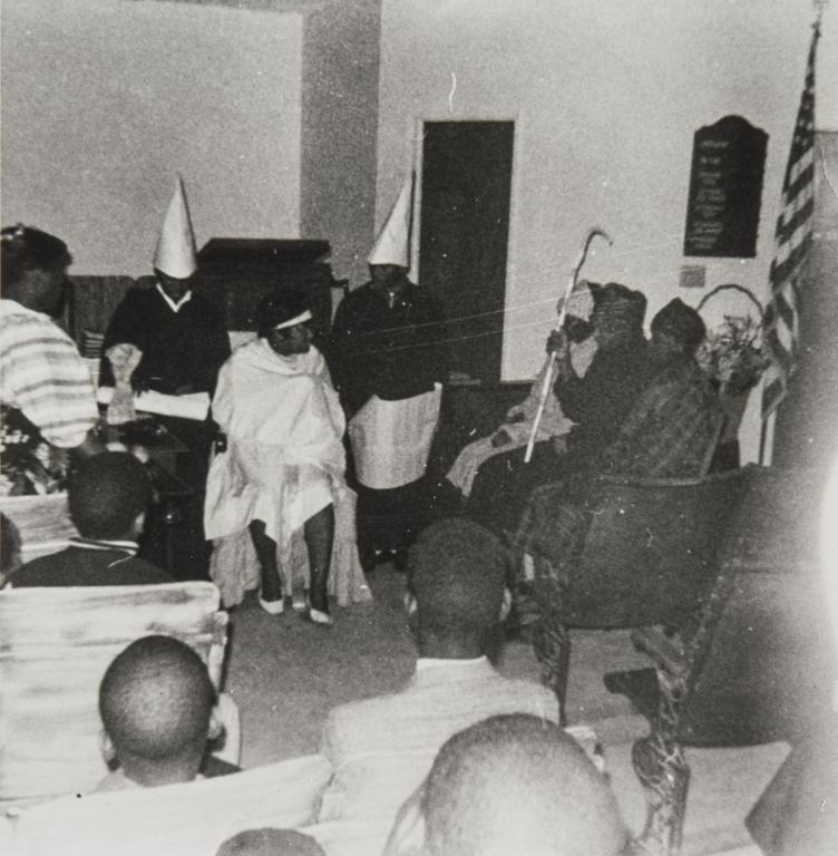 Christmas Play, St. Paul Baptist Church : 1965.
